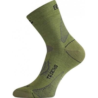 Lasting merino ponožky TNW 698 zelená