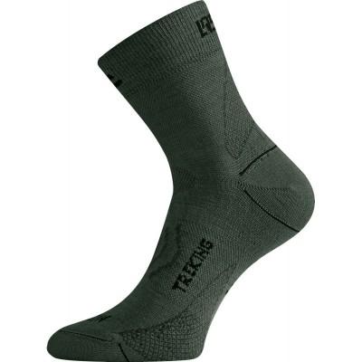 Lasting merino ponožky TNW 620 zelená