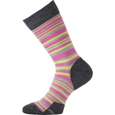 Lasting merino ponožky WWL 504 růžové