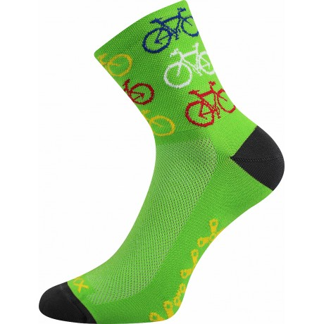 Merino ponožky WSM 620 zelené