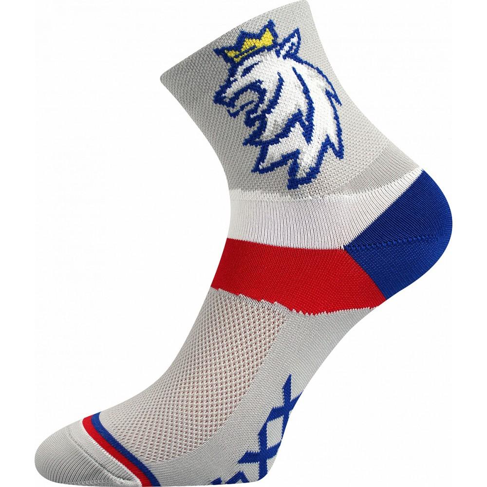 Merino ponožky WHI 408 růžová