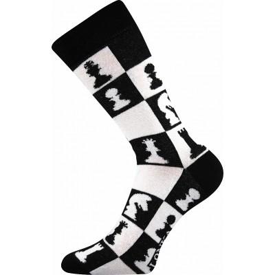 Ponožky Lonka Woodoo MIX C šachy
