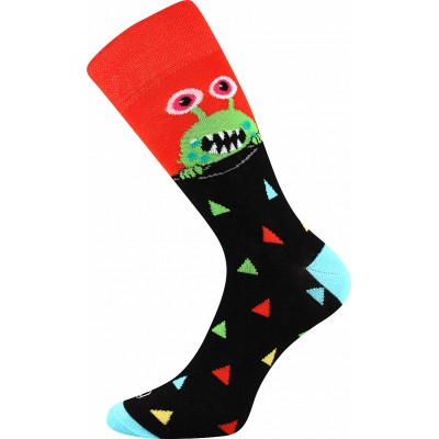 Ponožky Lonka Ufon MIX A oblekovky oranžová