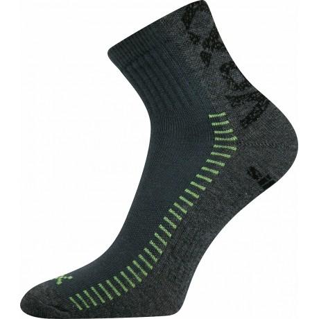 Merino ponožky dětské WJA 683 zelená