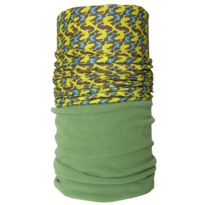 4FUN Lizard Green zimní multifunkční šátek