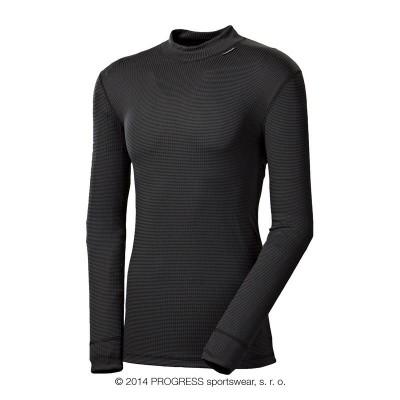Progress MS NDR pánské funkční triko dlouhý rukáv černá