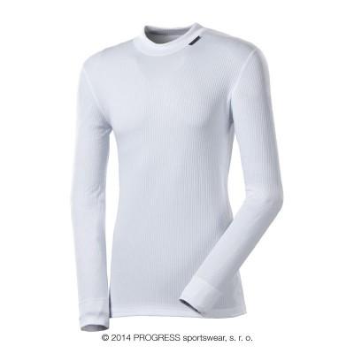 Progress MS NDR pánské funkční triko dlouhý rukáv bílá
