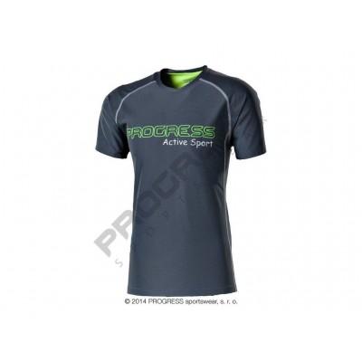 Progress AMON pánské sportovní tričko šedá