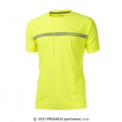 Progress PANTER HI-VIZ pánské sportovní tričko reflexní...