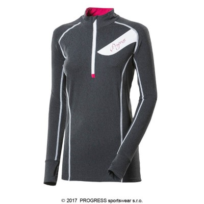 Progress FALCONIA dámský sportovní pulovr se zipem...