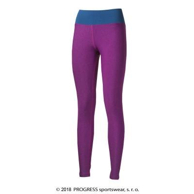 Progress BETTY dámské sportovní legíny fialová...