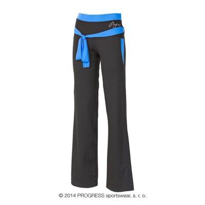 Progress VIKTORIE dámské sportovní kalhoty černá/modrá