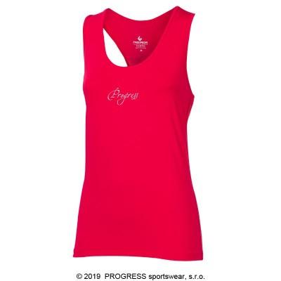 Progress SHELBY dámské sportovní tílko růžová