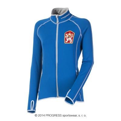 Progress TIMURA dámská sportovní ČSSR retro mikina modrá