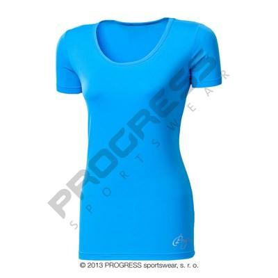 Progress Vidala dámské sportovní tričko modrá