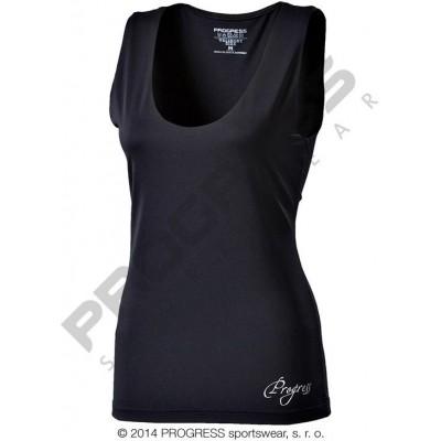 Progress OLI dámské sportovní fitness tílko černá