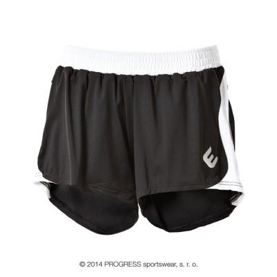 Progress ALFA dámské běžecké šortky černá