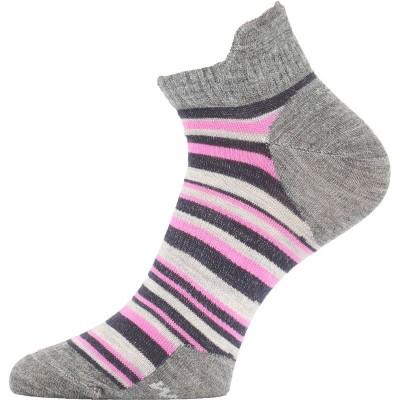 Lasting dámské merino ponožky WWS 804 růžové