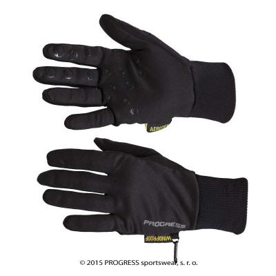 Progress TREK GLOVES turistické rukavice černá