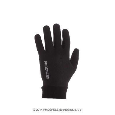 Progress WINDY tenké neprofuk rukavice černá