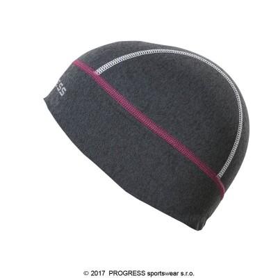 Progress XC CEP sportovní funkční čepice tm.šedý...