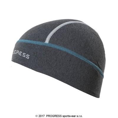 Progress XC CEP sportovní funkční čepice tm.šedý melír/modrá