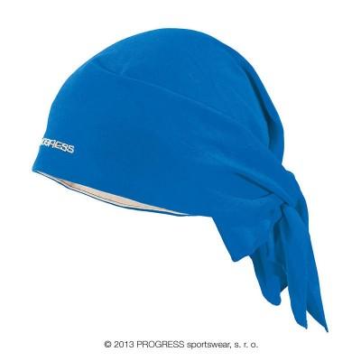 Progress SAT trojcípý šátek modrá