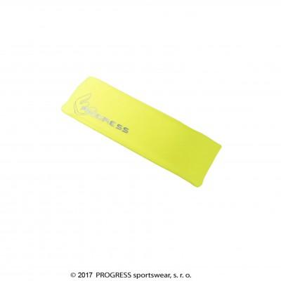 Progress TR CEA sportovní čelenka reflexní žlutá