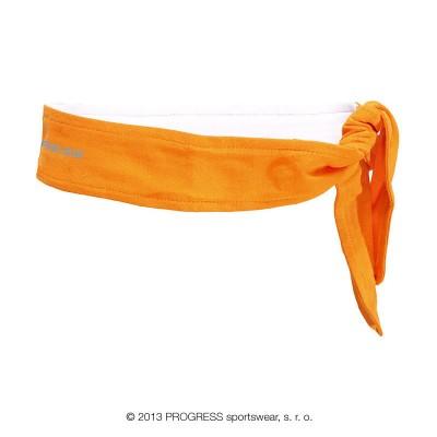 Progress CEL zavazovací funkční čelenka oranžová