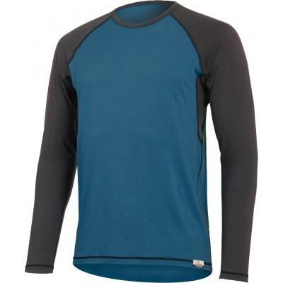 Lasting Pánské 100% merino tričko dlouhý rukáv MARIO 5880...