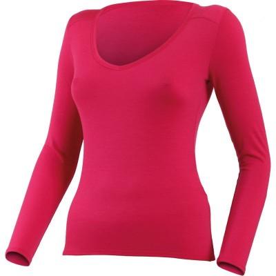 Lasting Dámské 100%merino tričko EVA 4747 růžové