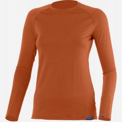 Lasting Dámské 100%merino tričko ATILA 7272 cihlová
