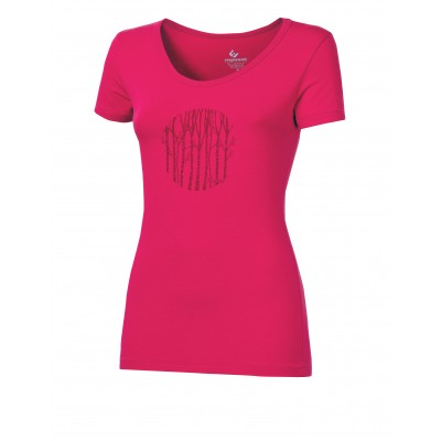 "Progress  SASA ""KMENY"" dámské triko s bambusem růžová"