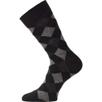 Lasting merino ponožky WPK černé 900