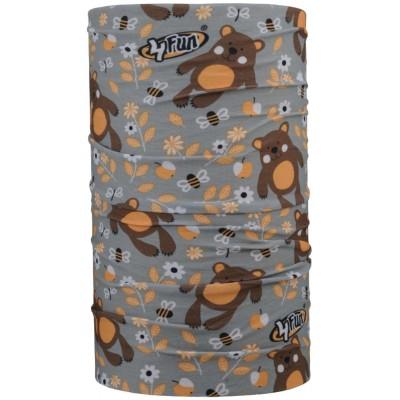 4FUN Bear Kid letní dětský multifunkční šátek