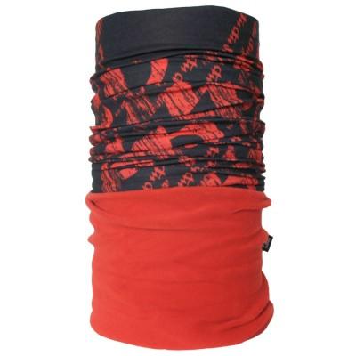4FUN Virgo Red zimní multifunkční šátek