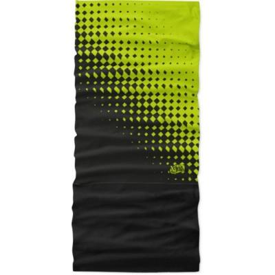 4FUN Romb Green zimní multifunkční šátek
