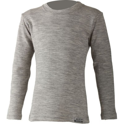 Lasting dětské 100% merino triko LONY  8484 šedý melír