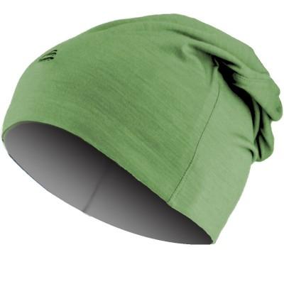 Lasting merino čepice BOLY 6080 zeleno/šedá 6080