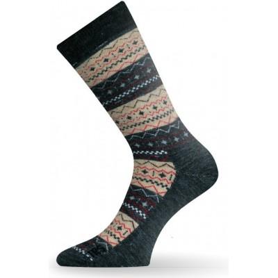 Merino ponožky TWP 807 béžové