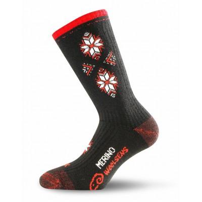 Merino ponožky SCK 903 černé