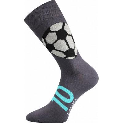 Ponožky Lonka Woodoo MIX S fotbal