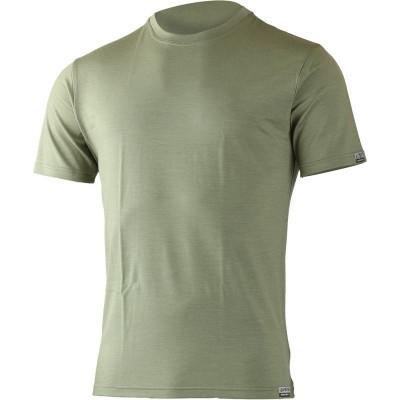 Lasting pánské 100% merino triko CHUAN 6666 zelena
