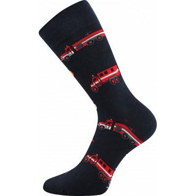 Ponožky Lonka Depate MIX L oblekovky hasiči modrá