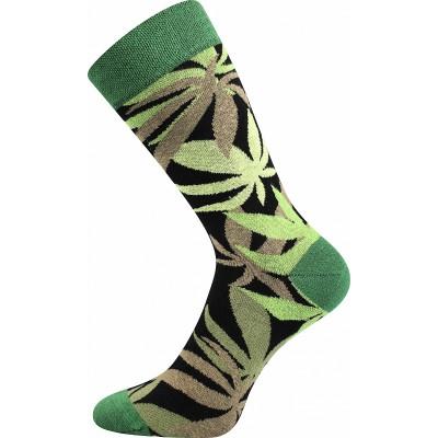 Ponožky Lonka Depate MIX E oblekovky konopí
