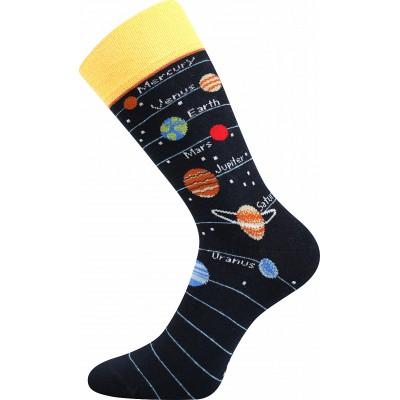 Ponožky Lonka Depate MIX E oblekovky sluneční soustava