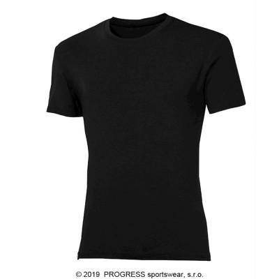 PROGRESS PIONEER pánské triko s bambusem černá