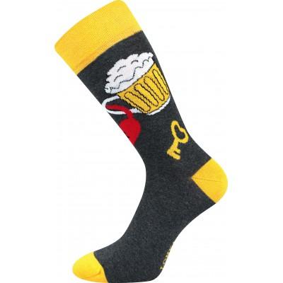Ponožky Lonka Depate MIX Q oblekovky Zamilované půllitry