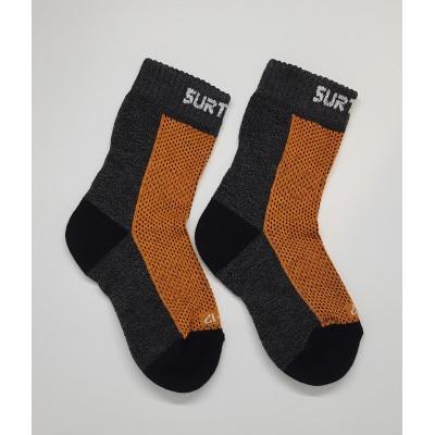 SURTEX DĚTSKÉ Ponožky 80% merino - froté chodidlo...