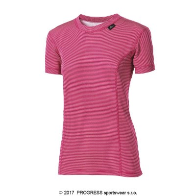 Progress MS NKRZ dámské funkční tričko krátký rukáv tmavě...